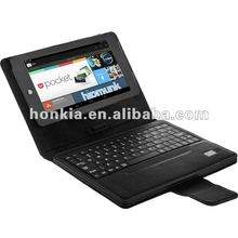 Blutooth Keyboard with Leather Case for Google Nexus 7.0inch