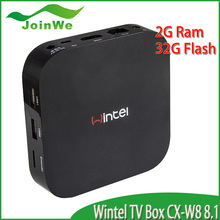 Quad Core CX-W8 Google Internet Android 4.4 & Win8 window tv box ,smart tv box,mini pc with wifi wintel tv box