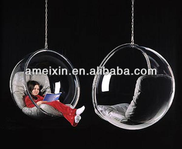 Acryl h ngesessel acryl kinderstuhl wohnzimmer sessel for Stuhl plastikschale