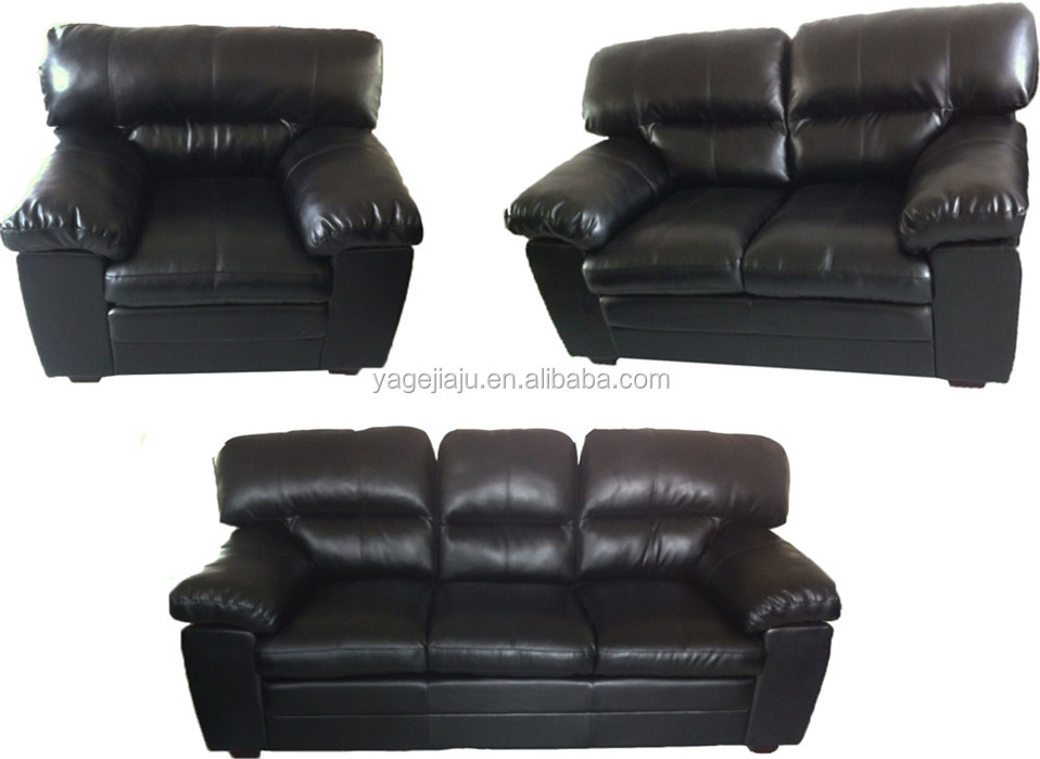 In-Stock Items Supply Type Modern leather sofa for small house