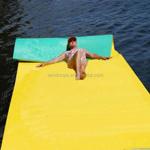 XPE foam large size strong buoyant force floating water mat high quality and cheap price