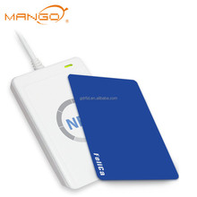 Programmable Read and Write Passive printed business NFC plastic smart Card /13.56MHz pvc rfid blank card