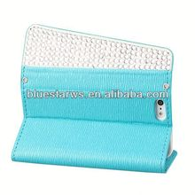 for iphone5 with card slots cell phone case for iphone5 leather case