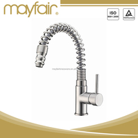 Modern spring loaded kitchen sink mixer tap faucets