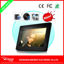 11 years manufacturer 1024 x 600 brand new LCD 10inch photo frame digital