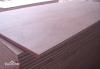 18mm Natural Wood Veneer Commercial Plywood Board