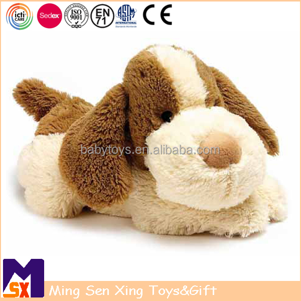ICTI Dog Toy Factory Custom Floppy Plush Puppy Stuffed Animal Toys