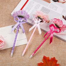 Top fashion super quality daughter gift flower ballpoint pen made in China