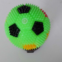 NEW TOYS BALL 65MM Spiky Flashing
