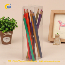 gift cylinder packaging clear plastic tube
