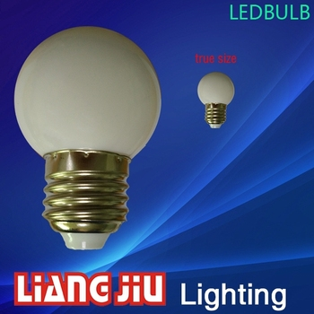 2015 new product decorative E27/G45 LED color's bulb