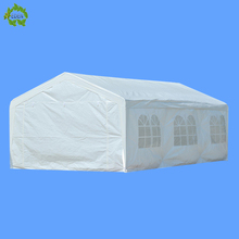 4x6M Outdoor Tent PE Wedding Party Canopy Carport Heavy Duty with ground bars
