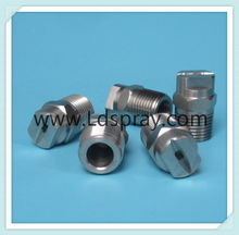 HU series stainless steel flat jet spray nozzle