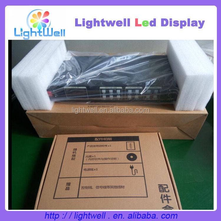 Led P2.5mm hdmi led display video wall processor