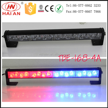 Car grille light amber/blue/red strobe LED warning light TBE-168-4A CE/IP65/ROHS