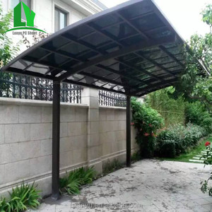 recycled 8mm lightweight polycarbonate lowes metal carports