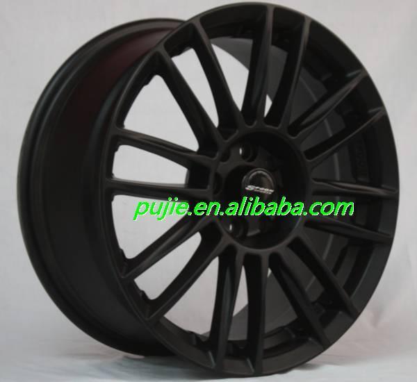 15*70 inch black face alloy wheels aftermarket wheels