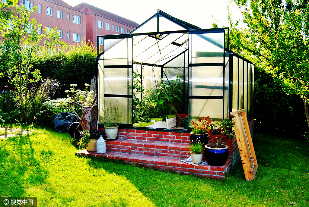 Aluminum Frame Growing Tent Garden Shed  Outdoor Growing Small-sized Greenhouse