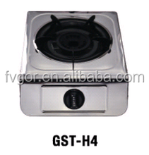 Fvgor Single stainless steel india gas cooker GST-H4