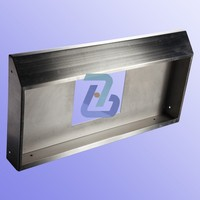 Custom sheet metal cabinet shelf bracket fabrication with cnc machining by China OEM