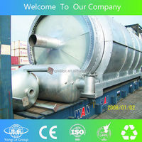 gold supplier waste tyre pyrolysis plant with CE