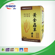Cordyceps Militaris Capsules to Inhibit Tumor Growth and Helpful in Anti-Cancer