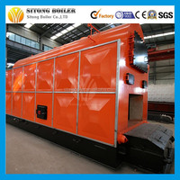 steam boiler with high quality steam turbine