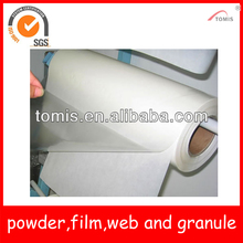 PO/Polyolefin hotmelt adhesive film for glued labels