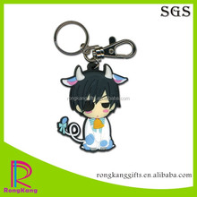 customized promotion gifts 3d pvc keychain