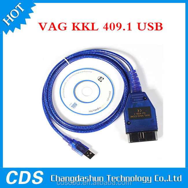 2015 Newest VAG 409.1 USB /KKL409.1 USB FT232RL Chip for Audi/VW