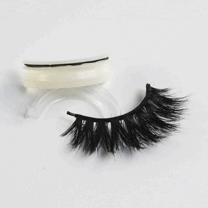507792de514 lash supplies 3D self adhesive fur false eyelashes best mink lash mink  lashes strips mink eyelashes vendor