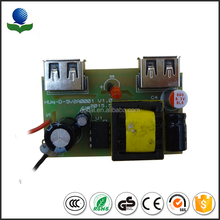 Chinese factory SMT electronic components pcb pcba service 12v 0.5a ac/dc power adapter