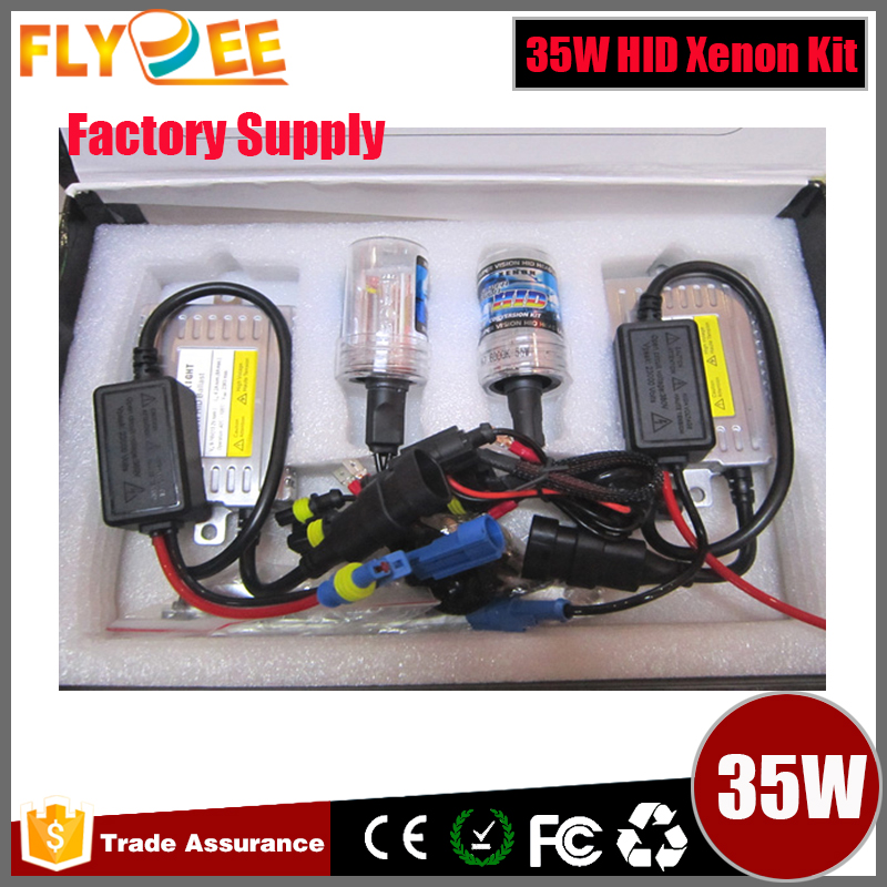 35W 55w HID Xenon Conversion Kit Slim/Canbus Ballast H1 H3 H4 H11 9005 9006 Xenon HID Kit Cnlight metal H7