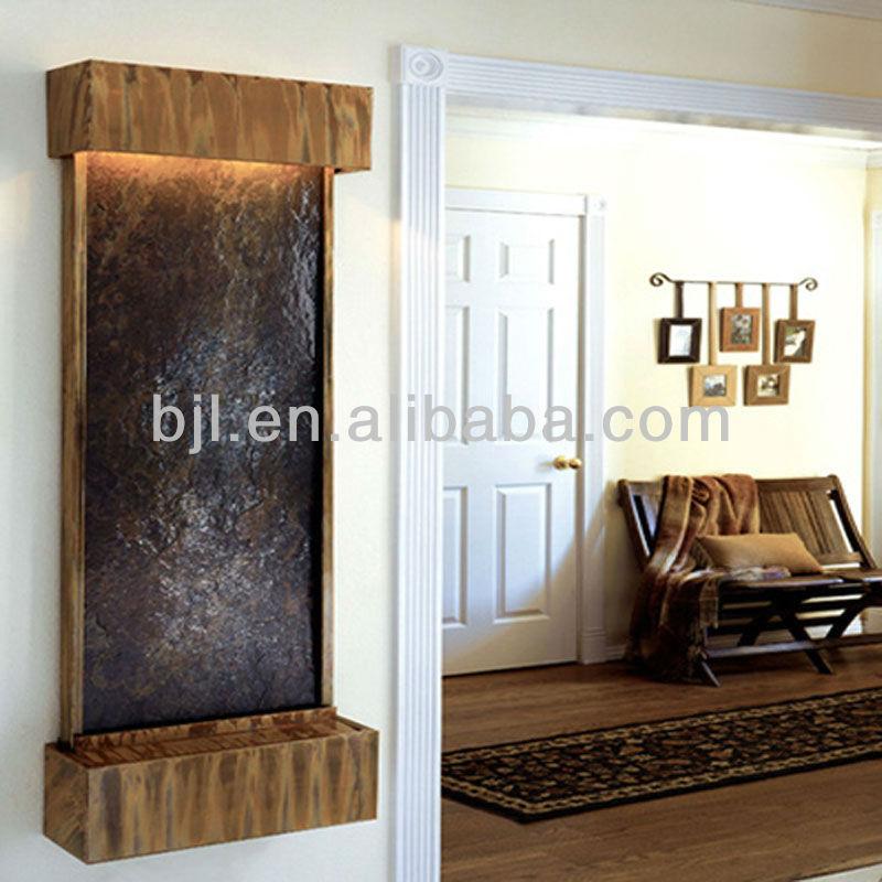 d nne platte wandbrunnen innen f r wasserdurchfluss brunnen wohnkultur metall kunsthandwerke. Black Bedroom Furniture Sets. Home Design Ideas