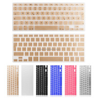 Silicon Keyboard Skin Cover For Mac Book 13 15 Inch Germany Langaunge