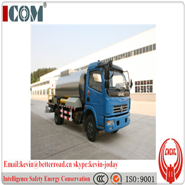 Intelligent asphalt distributor/ bitumen sprayer truck
