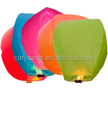 Kongming Lanterns Hot sell Paper Balloon Wish Ballon Sky Lantern