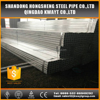 galvanized steel rectangular tube