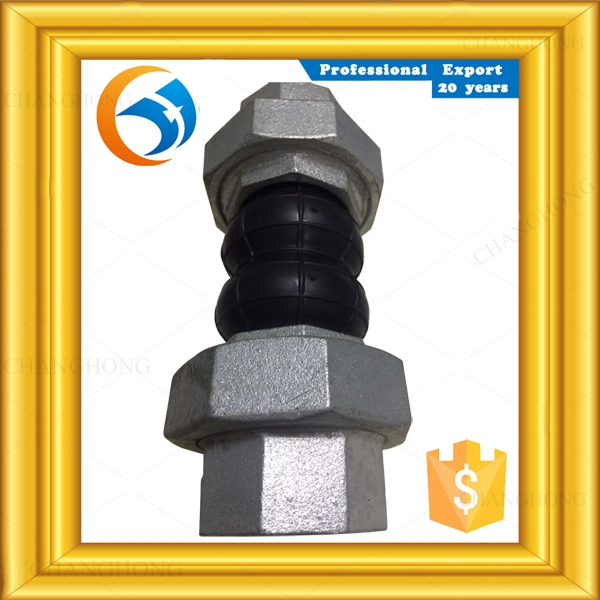 Work 7 days valves threaded type sleeve expansion joint