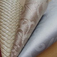 Various Floral Embossed Pvc Leather for Decoration Upholstery HX1505