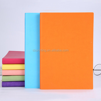 Custom A5 High Quality PU Leather Hardcover Journal Writing Notebook