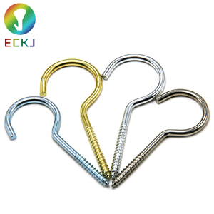 hot selling wholesale zinc plated screw hooks