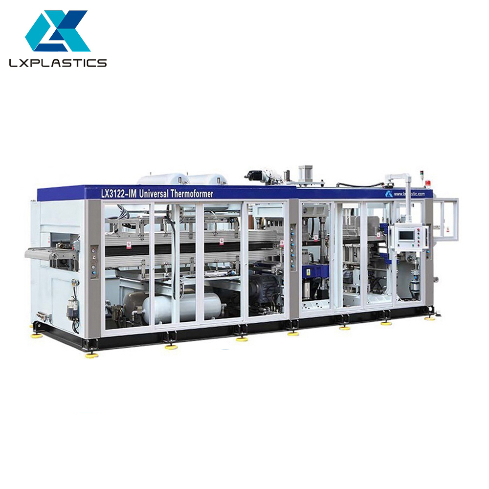 Supplier direct simple maintenance energy saving vacuum forming machine