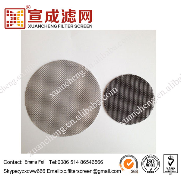 Extruder Plain Weave 1000 Micron Filter Mesh