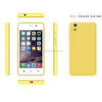 4.0 inch Dual Core MTK6572 Cell Phone Android 4.4 3G android smartphone