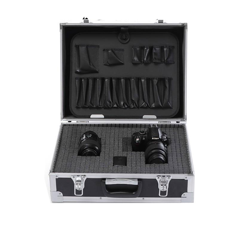 Small Aluminium Case with Foam Insert Camera Video Case Tool Box