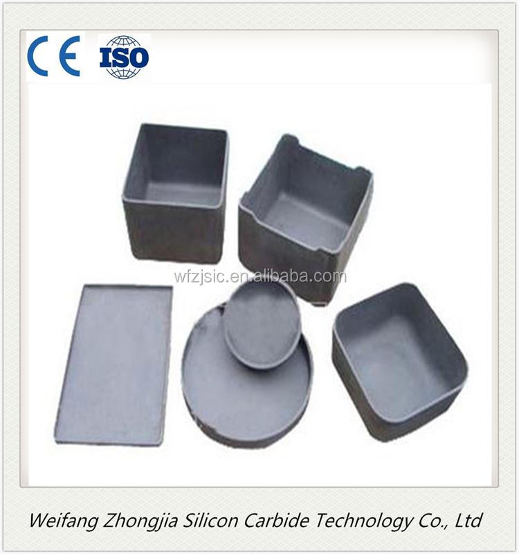Refractory RBSIC Silicon Carbide crucible