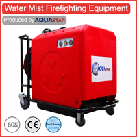 Portable water mist fire extinguisher not abc type