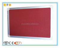 school soft felt board for pin board with aluminum frame