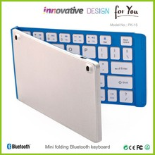 Mini portable Bluetooth Keyboard/ Wireless Keyboard Compact UK British for MAC/iPads